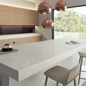 Alpine Mist 5110 Caesarstone Komposit Küchenplatten