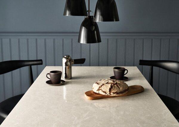 Cosmopolitan White 5130 Caesarstone Komposit Küchenplatten