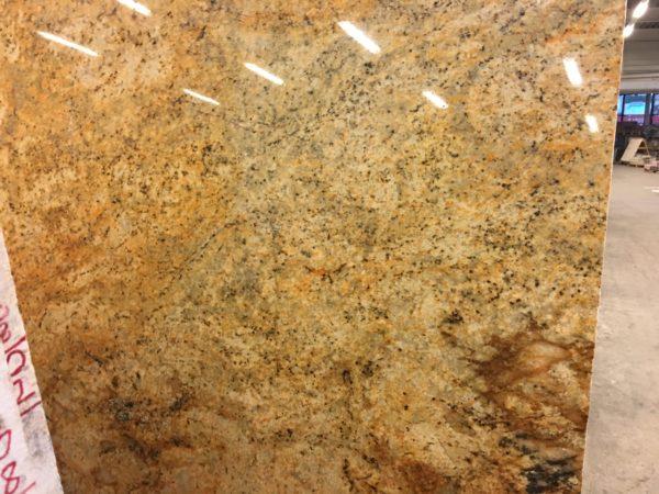 Imperial Gold Granit Arbeitsplatte