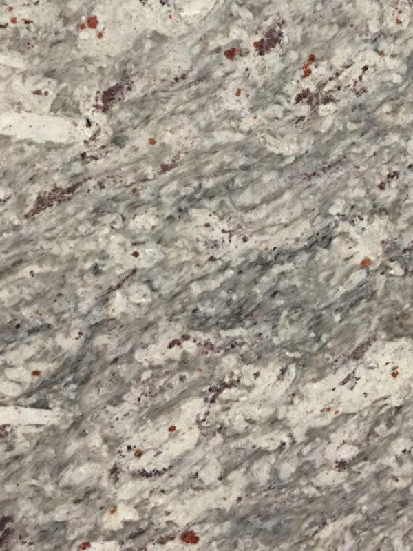 Kashmir white Granit Arbeitsplatte
