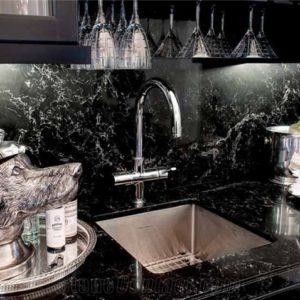 Vanilla Noir 5100 Caesarstone Komposit Küchenplatten