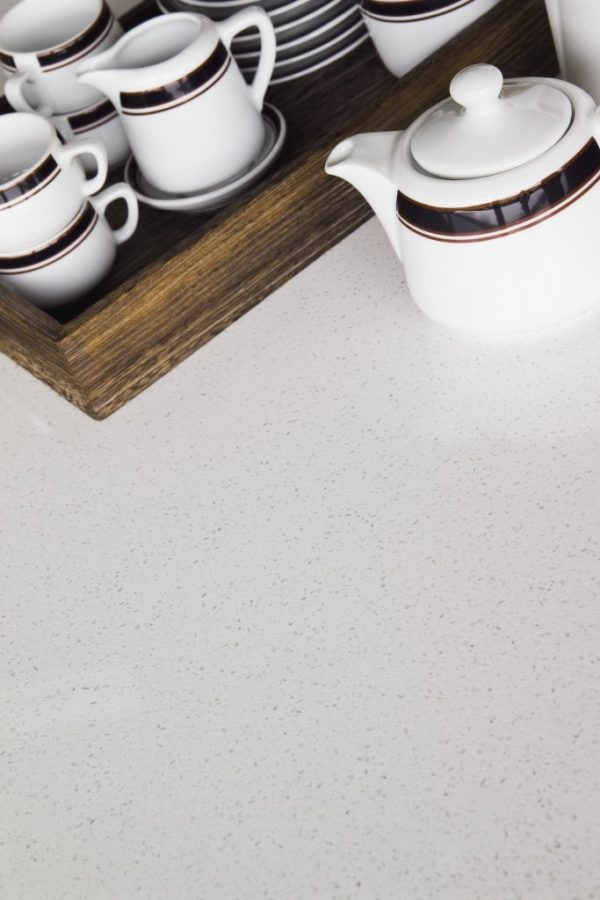 Beach White plus Easy Clean Diresco Komposit Küchenplatte