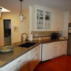 Black Canyon Silestone Komposit Küchenplatte