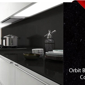 Orbit Black silk Belenco Komposit Arbeitsplatten