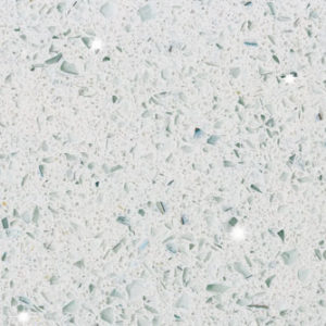 Kristella White Belenco Komposit Küchenplatte