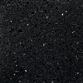 Negro Stellar | Silestone Komposit Küchenplatte