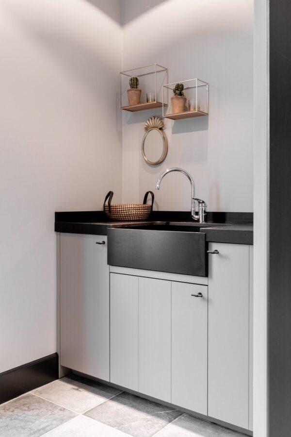 Beach Black Diresco Komposit Küchenplatte