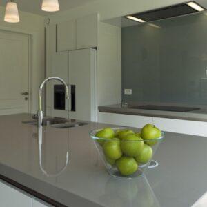 Premium Cobalt Grey Diresco Komposit Küchenplatte