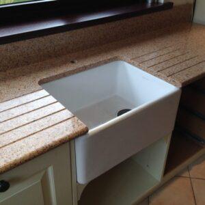 Amarillo Palmira Silestone Komposit Küchenplatte