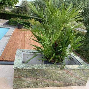 Rainforest Marmor Pflanzenkübel