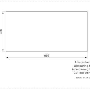 AMSTERDAM 15 BLACK SILVERY