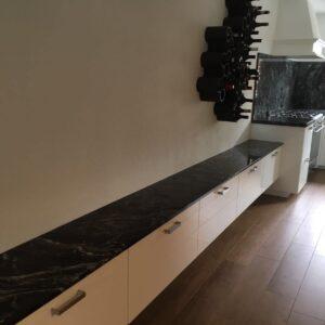 Granit Fensterbank Black Forest