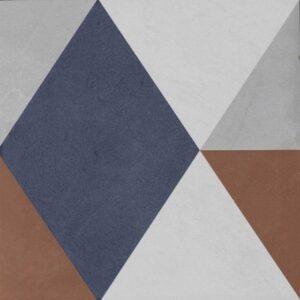 Vintage Fliesen Quadrat Dekor 1