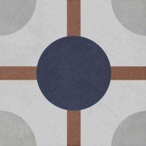 Vintage Fliesen Quadrat Dekor 6
