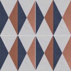 Vintage Fliesen Quadrat Dekor 7