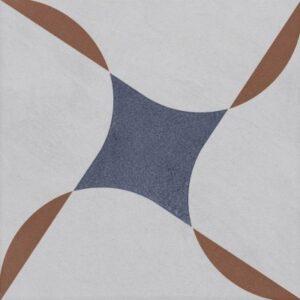 Vintage Fliesen Quadrat Dekor 9