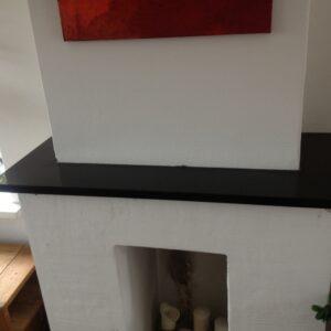 Granit Fensterbank Nero Absolute Black